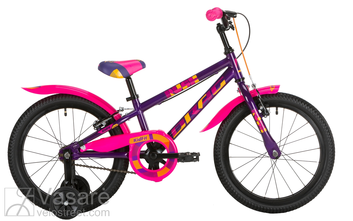 Jalgratas 16 Drag RUSH purple/pink