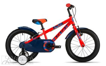 Jalgratas 16 Drag RUSH red/blue