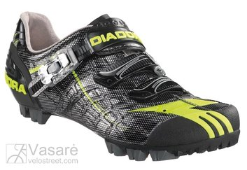 Cycling Shoes MTB Diadora PROTRAIL 2 black/yellow fluo