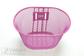 """Basket Youth 12-18"""" Pink w/o bkt 25x15x16,5cm"""