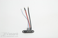 El. dviračio dalis Connector cable bty ED-3 L=140/120mm