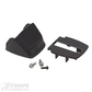 Plastic housing kit for lock , incl. top and bottom cover, 1 x thread forming screw 3.5 x 12 and 2 x socket screws M5 x 12