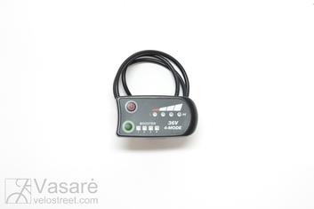 El. dviračio dalis LED HMI 36V 4-Mode, 4-PIN Connector SM