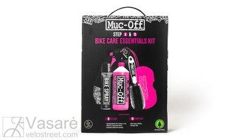 Muc-Off Bike Care Essentials Kit - komplektas pagrindinės priežiūros priemonės