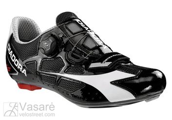 Batai ROAD Diadora VORTEX Racer juoda/balta