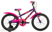 Bicycle 16 Drag RUSH purple/pink
