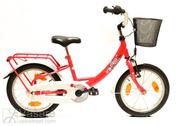 "Bicycle 16"" Ma-St-KID R26 RBN U MONO KAPOEN Hibiscus-Red"