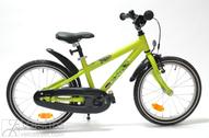 """Bicycle 18""""Kn-Al-DRT R28 RBN U DIRT ROCKY Lime-Green MATT"""