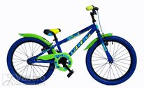 Jalgratas 20 Drag RUSH blue/green