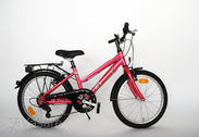 "Bicycle 20""Ma-Al-ATB R30 T07 U TRAPEZ Hibiscus-red"