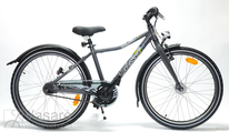 """Bicycle 24"""" Kn-Al-ATB R36 7NY U Curve Shale-grey"""