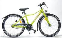 "Fahrrad 24"" Kn-Al-ATB R36 7NY U Curve SLime-green"