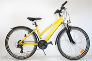 """Bicycle 26""""Da-Al-ATB R38 T21 F TRAPEZ True-yello"""
