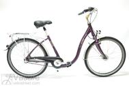 """Dviratis 26""""Da-Al-CTY R44 3NX U PAGOBA2 ALU COMFORT purple jam"""