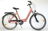"""Bicycle 26""""Da-Al-CTY R45 7NY F DEEP-N Red-rock"""