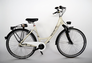 "Bicycle 26""Da-Al-TRK R45 7NY F MONO-HN Old white"