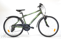 "Dviratis 26""He-Alu-MTB R40 T21 F Hunter-green"