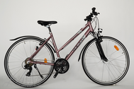 "Bicycle 28""Da-Al-CRS R50 T21 F DAMEN MOCCASIN SPORT moonlite-rose"