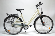 "Bicycle 28""Da-Al-TRK R50 8NY F LADY-HN PRIOR LUX Cream-metallic~"
