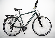 "Bicycle 28""He-Al-CRS R53 D27 F HERR-IT britsh green"