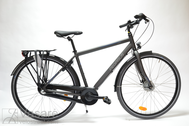 "Bicycle 28"" He-Al-CTY R61 3RB U HERR-NS LUCCA NL ~Iron-black MATT"