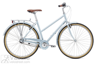 Dviratis Breezer Downtown 3 ST Gloss Light Blue