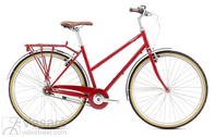 Dviratis Breezer Downtown 8 ST Gloss Red,