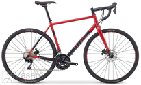 Dviratis Breezer Inversion PRO Red and black