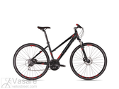 Bicycle Drag Grand Canyon Lady Pro black-red