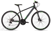 Jalgratas Drag Grand Canyon TE black-green