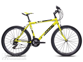 Bicycle Drag H-1 Neon Yellow Black