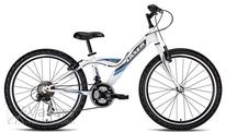 Bicycle Drag Laser 24 white blue