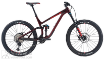 Bicycle Fuji Auric 27.5 LT 1.3 Dark Maroon