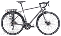 Dviratis Fuji Touring Disc LTD Anthracite