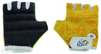 Jalgratas gloves TOUR DE FRANCE, for children/youths, size: XS
