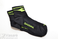 DIADORA  socks CALZINO RACING L-size NERO/GI