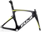 Raamikomplekt Fuji Track Elite Frameset Carbon/ Citrus