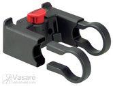 Vairo laikiklis Klickfix Juodas (Doggy krepšeliui) 31,8mm vairui