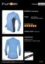 Women's jacket blue J369LWS