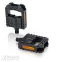 Pedalai XLC folding pedal PD-F01 lankstomi