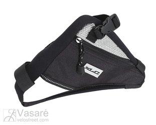 Trikampis rėmo krepšelis XLC juoda/pilka