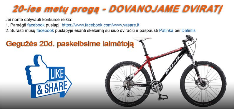 dviratis-dovana