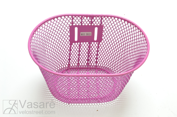 "Basket Youth 12-18"" Pink w/o bkt 25x15x16,5cm"