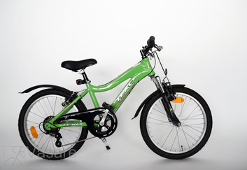 """Bicycle 20""""Kn-Al-MTB R30 T07 F MTB-IT vibrant-green"""