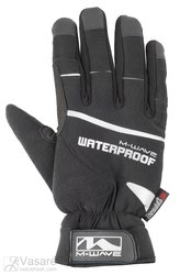 "bicycle gloves  M-WAVE ""ALASKA-GEL"", wind and water resistant, size: M"