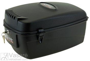 Plastikinė bagažinė su užraktu