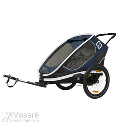 Jalgratas trailer for children Hamax Outback Navy
