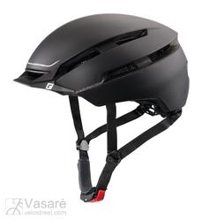 Bike Helmet Cratoni C-Loom  S/M (53-57cm) black/white gummed