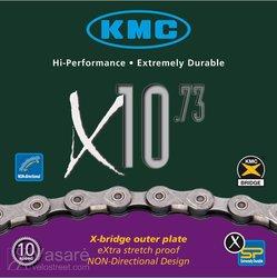 Grandinė KMC X-10-73, 30 pav. 116 narelių 1/2 x 11/128