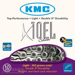 Grandinė KMC X10 EL Silver